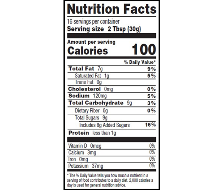 Homestyle Nutritional Facts